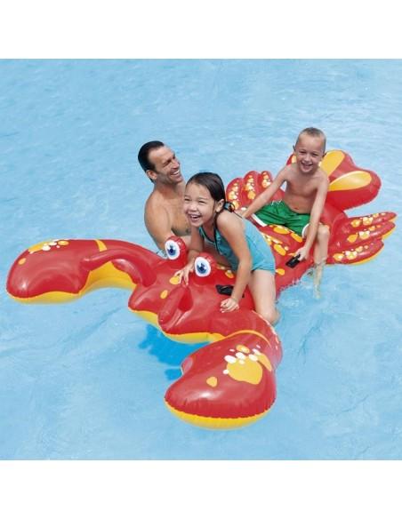 Crab copii - Saltea de plajă / piscină gigant