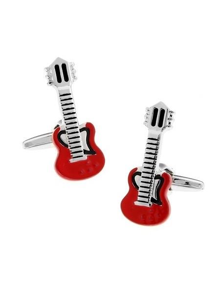 Butoni Chitară electrică roșie