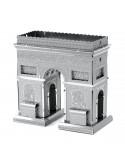 Arcul de triumf Paris puzzle 3D metalic