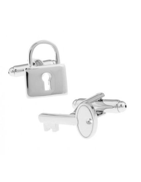 Butoni Lacăt și cheiță