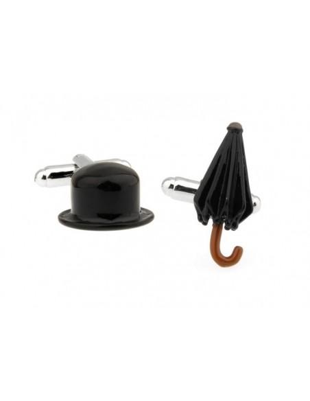 Butoni Pălărie și umbrelă