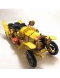 Mașină mare cu 4 locuri galbenă