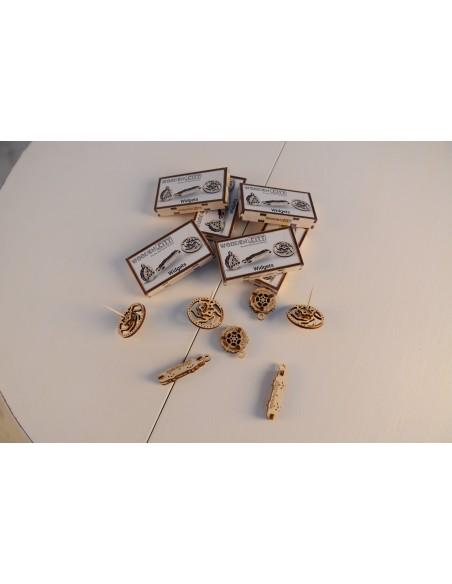 Widgets kit modele mecanice breloc Fidget și titirez