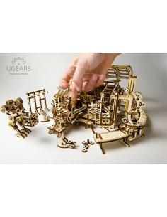 Fabrica de Roboți - seria Orașul Mecanic UGears - kit modele mecanice