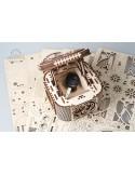 Cutia Comorii Ugears kit modele mecanice (Treasure Box) model 2017