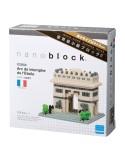 nanoblock Arcul de Triumf din Paris