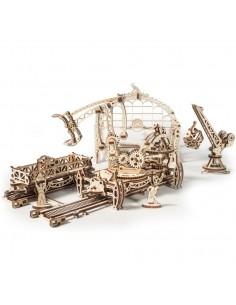 Set complet Orașul mecanic - UGears kit modele mecanice