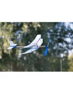 Avion cu elastic