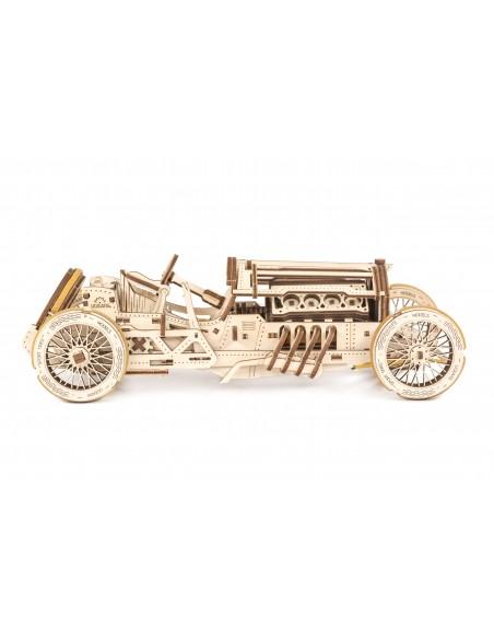 Mașină de curse U-9 Grand Prix Car UGears modele mecanice