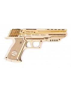Pistol Wolf-01 UGears kit modele mecanice