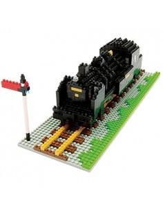 nanoblock Locomotiva cu aburi