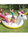 Piscină gonflabilă Unicorn copii cu stropitoare