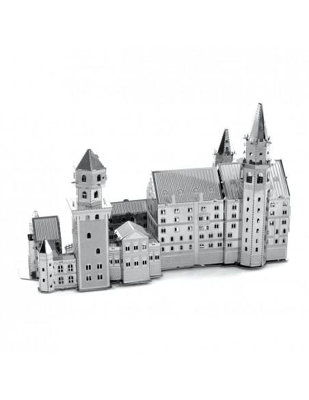 Castelul Neuschwanstein puzzle 3D metalic