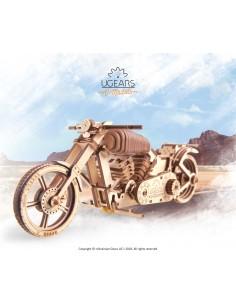 Motocicletă VM-02 UGears modele mecanice