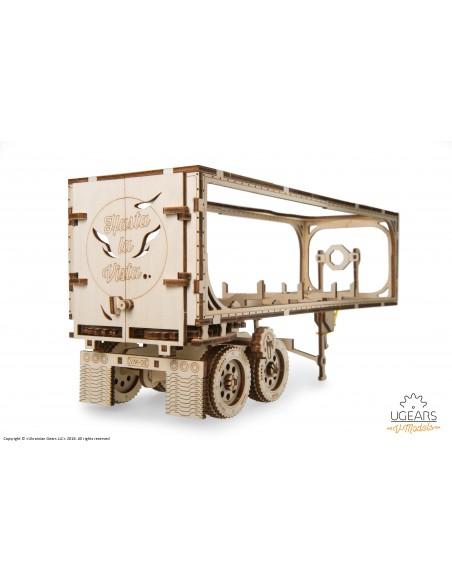 Remorcă pentru Camion VM-03 UGears modele mecanice