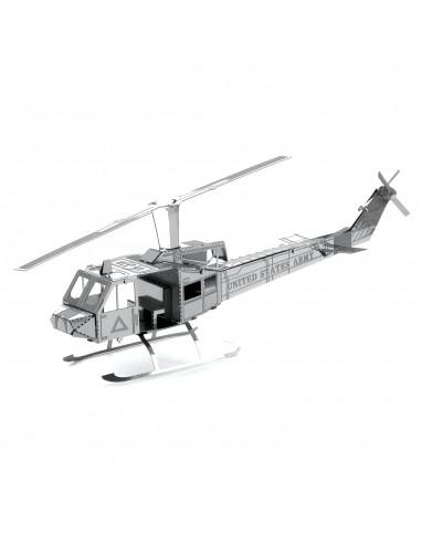Elicopterul Huey puzzle 3D metalic