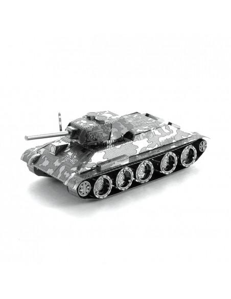 Tancul T-34 puzzle 3D metalic