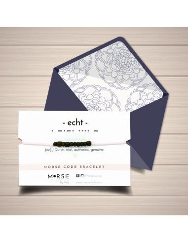 """Brățară Morse """"Echt"""""""