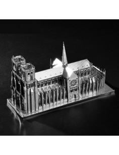 Catedrala Notre Dame Paris puzzle 3D metalic XXL