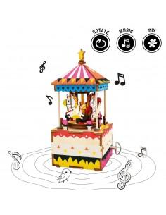 Carusel unicorni - puzzle...