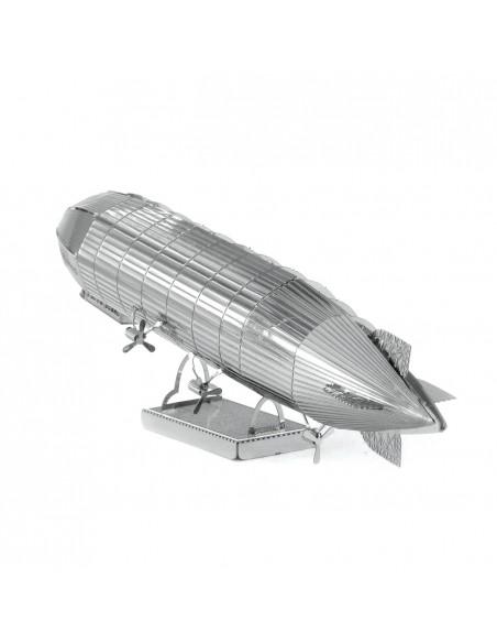 Zeppelin puzzle 3D metalic