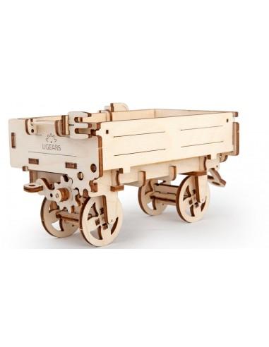 Remorca tractorului - kit modele mecanice UGears
