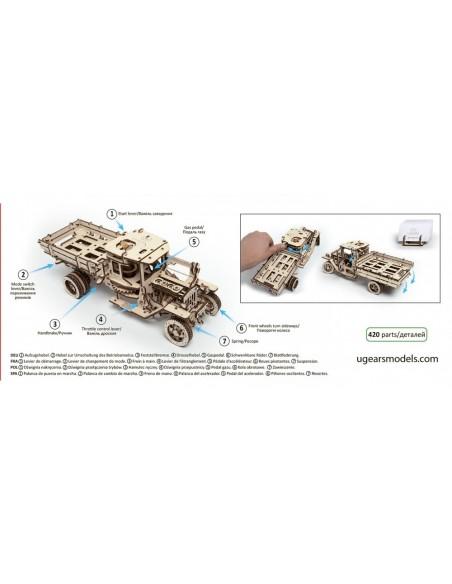 Camion UGM-11 Truck - kit modele mecanice UGears