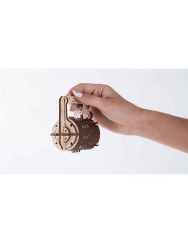 Cutiuța cu cifru (Combination Lock) - kit modele mecanice UGears