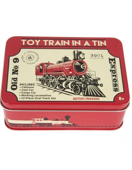 Trenuleț la cutie