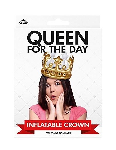 Coroană gonflabilă Regină