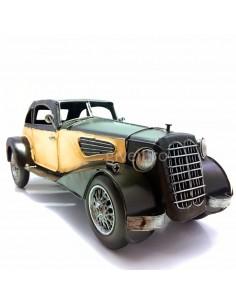 Mașină mare gangster macheta vintage decorativa